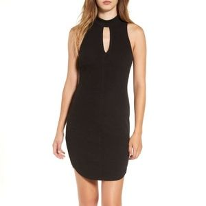 NWT ASTR Cutout Knit Body-ConSleeveless Dress